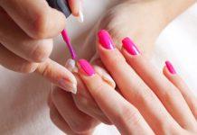 domowy manicure hybrydowy